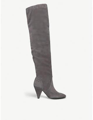 Kurt Geiger London Violet over-the-knee suede boots