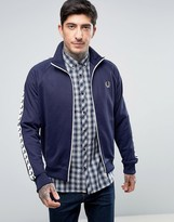 Fred Perry Sports Authentic Track Jacket In Navy