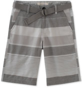 Calvin Klein Ether Stripe Shorts, Big Boys (8-20)