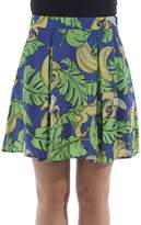 Love Moschino Banana Print Mini Skirt