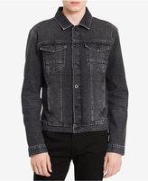 Calvin Klein Jeans Men's Gray Rinse Denim Jacket