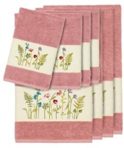 Linum Home Turkish Cotton Serenity 8-Pc. Embellished Towel Set Bedding