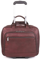 Kenneth Cole Reaction Colombian Leather Double Gusset Top Messenger Bag