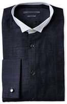John Varvatos Slim Fit Linen-Blend Dress Shirt