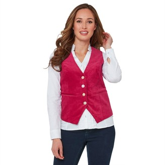 Joe Browns Cotton Buttoned Fitted Waistcoat