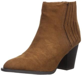 Qupid Women's PRENTON-18 Ankle Boot Maple 6 M US