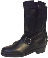 Balmain Leather Boots