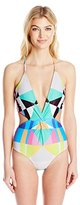 Mara Hoffman Women's Twist Front One-Piece Swimsuit