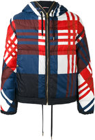 Moncler Gamme Bleu checkered down jacket - men - Cotton/Polyamide/Feather Down - 1