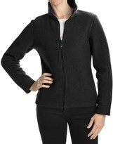 Ivanhoe of Sweden Ivanhoe Brodal Classic Jacket - Boiled Wool (For Women)