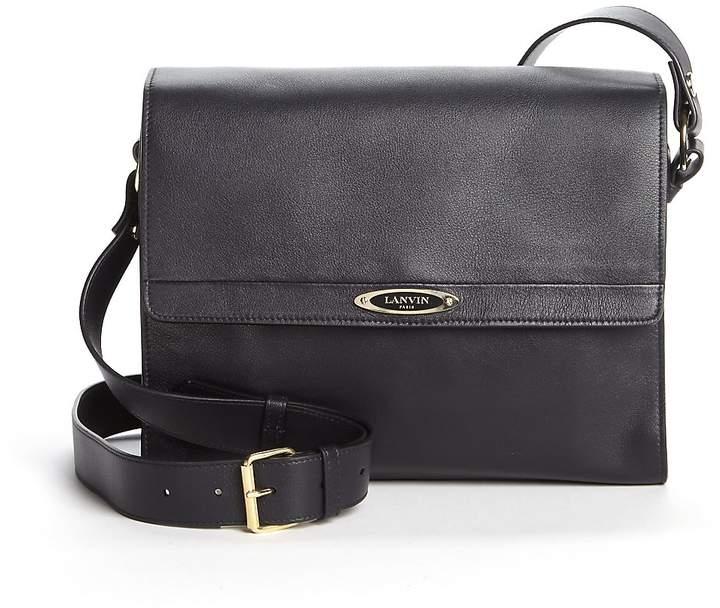 Lanvin Women's Small Leather Flap Shoulder Bag