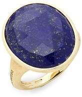 Marco Bicego Women's Lunaria Yellow Gold & Lapis Statement Ring