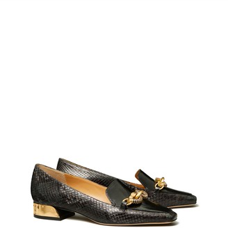 Jessa Mixed-Material Loafer