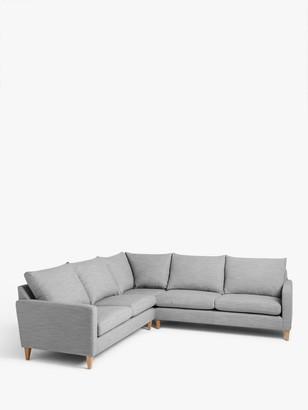 John Lewis & Partners Bailey Fixed Cover Corner Sofa