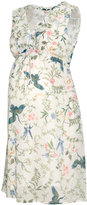 H&M MAMA Patterned Dress - Natural white/floral - Ladies