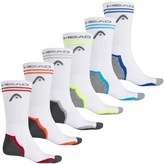 Head Tipped Arch Support Socks - 6-Pack, Crew (For Men)