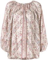 Mes Demoiselles patterned blouse