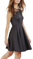 Ted Baker Dollii Emb Cut Out Dress