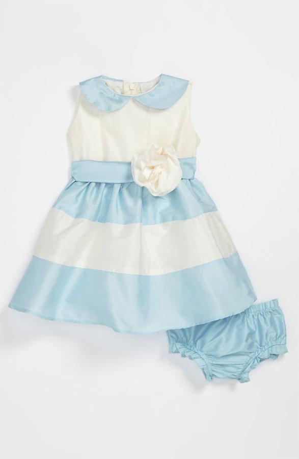Us Angels Peter Pan Collar Dress (Baby Girls)