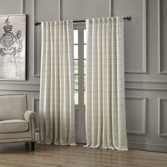 "Waterford Astrid Back Tab/Rod Pocket Curtain Panel, 54"" x 84"""