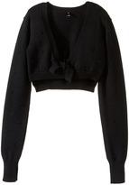 Bloch Bubble Knit Tie Sweater (Little Kids)