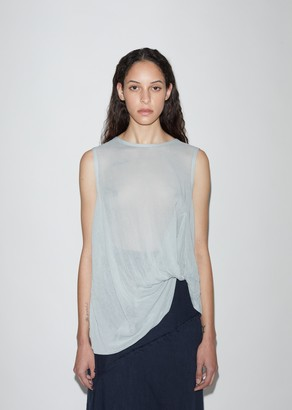 Y's Layered Twist Detail Blouse