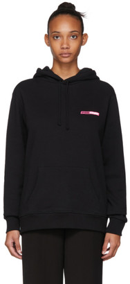 Opening Ceremony SSENSE Exclusive Black Logo Hoodie