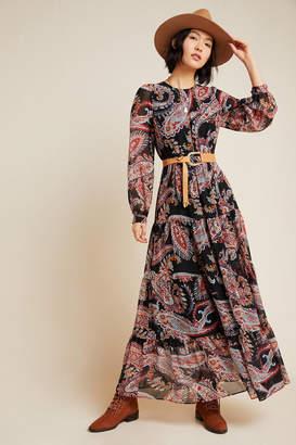 Anthropologie Paisley Maxi Dress