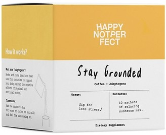 Happy Not Perfect Stay Grounded 1-Piece Coffee & Adaptogen 10-Piece Set