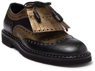 Dolce & Gabbana Leather Wingtip Lace-Up Derby