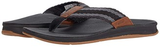 Reef Ortho Coast Woven (Grey/Olive) Men's Shoes