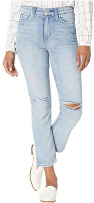 Hudson Holly High-Rise Crop Straight Jeans in Dest Washed Out (Dest Washed Out) Women's Jeans