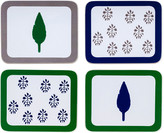 Joanna Buchanan Leaf and Tree Print Coasters, Set of 4