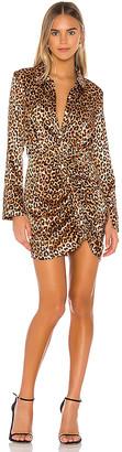 LIKELY Leopard Emilia Dress