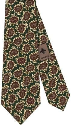 Gucci GG paisley tie