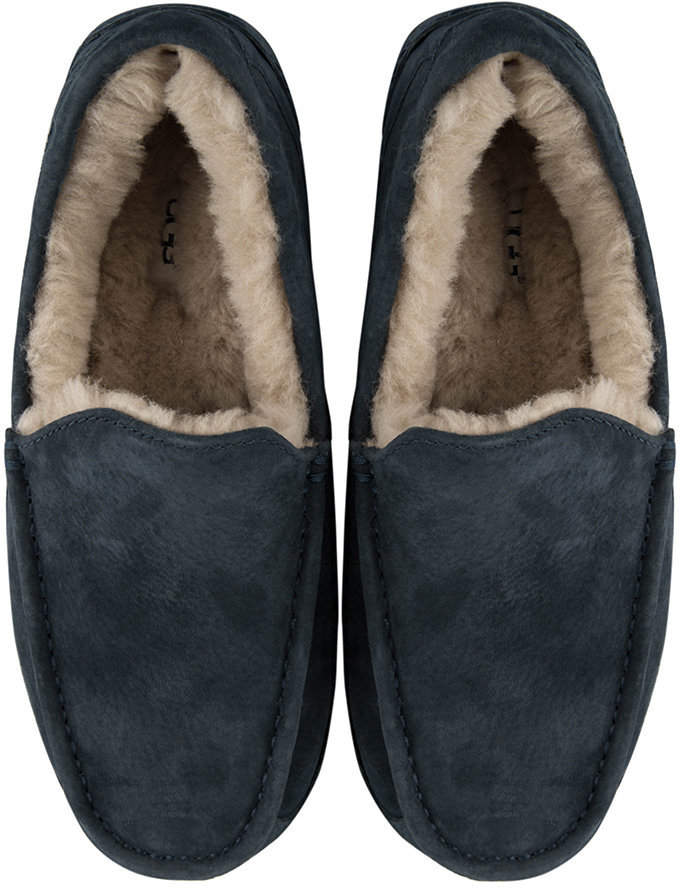 a72650bc5cc Men's Ascot Slippers - New Navy - UK 8