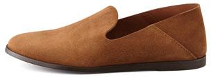 Pedro Garcia Yoshi Suede Slip-On Loafer, Brown