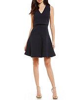Armani Exchange A/X Sleeveless Fit Flare Dress