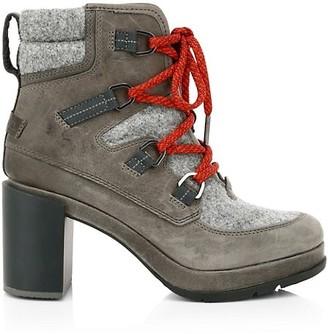 Sorel Blake Lace-Up Leather & Felt Hiking Boots
