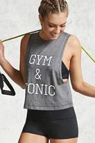 Forever 21 FOREVER 21+ Active Gym & Tonic Muscle Tee