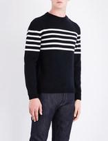 A.P.C. Striped wool jumper