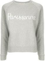 MAISON KITSUNÉ Parisienne jersey sweater