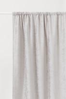 H&M 2-pack Velvet Curtain Panels - Brown