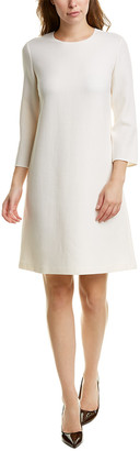 Lafayette 148 New York Giovanetta Wool Shift Dress