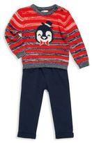 Petit Lem Little Boy's Two-Piece Sweater & Pants Set