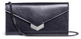 Jimmy Choo 'Lucile' leather crossbody clutch