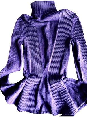Sportmax Burgundy Wool Knitwear