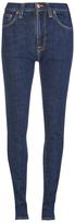 Nudie Jeans Women's Pipe Led Skinny Jeans Night Shadow