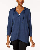 Style&Co. Style & Co Oversized Dolman-Sleeve Hoodie, Created for Macy's