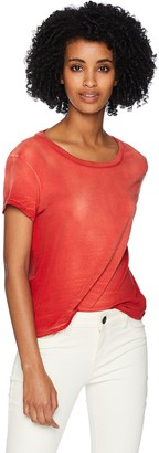Pam & Gela Women's Open Back Basic Tee
